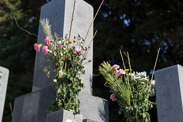 亡くなった後に入るお墓の準備